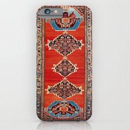 Bijar Kurdistan Northwest Persian Carpet Print iPhone Case