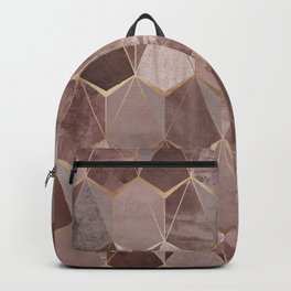 Diamonds Collection - Rose and Gold Backpack