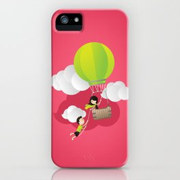 for the adventure of love iPhone Case