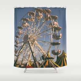 Wheel Ferris Shower Curtain