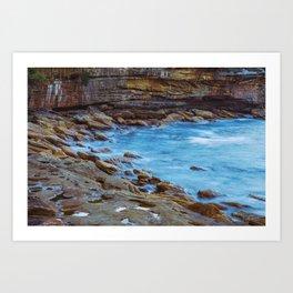 Northern Beaches Art Print