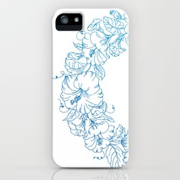 Floral Circle iPhone Case