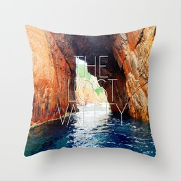 The lost valley Throw Pillow