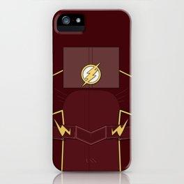 Superheroes phone | The Flash #3 version iPhone Case
