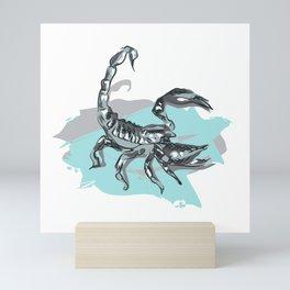 Scorpion Digital Art Print Mini Art Print