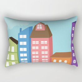 City View Rectangular Pillow