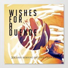 Wishes for a Duende Canvas Print