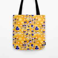 klimt Tote Bags featuring Klimt by kociara