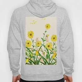 Yellow Wildflowers Hoody