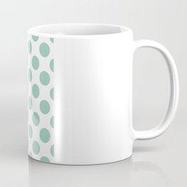 Monogram Initial W Polka Dot Coffee Mug