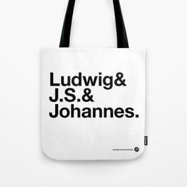 The 3 Bs v2 Tote Bag