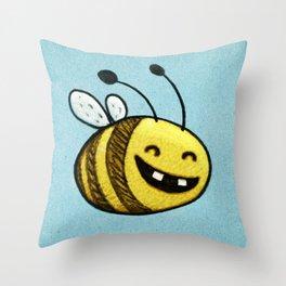 Bee 2 Throw Pillow