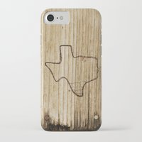 texas iPhone & iPod Cases featuring Texas by Travis Weerts