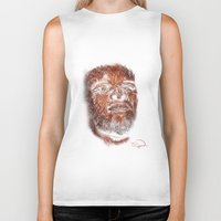 mike wrobel Biker Tanks featuring Mike Brown  by Tazmatic