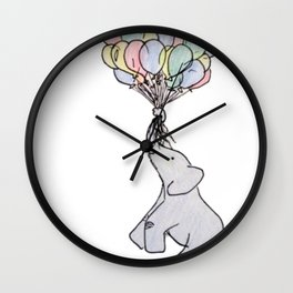 Up and Away Wall Clock