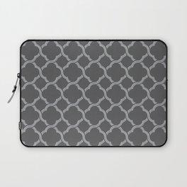 Grey Trellis Laptop Sleeve