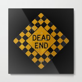 Dead End Shotgun. Metal Print