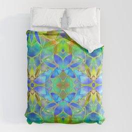 Floral Fractal Art G20 Comforters