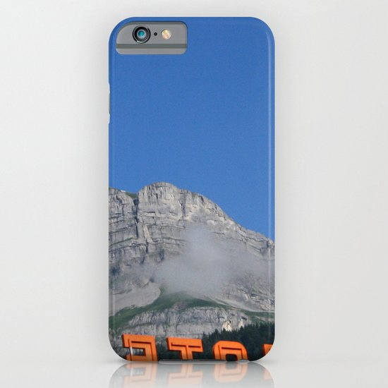 Chamonix hotel iPhone & iPod Case