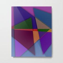 Abstract #425 Metal Print