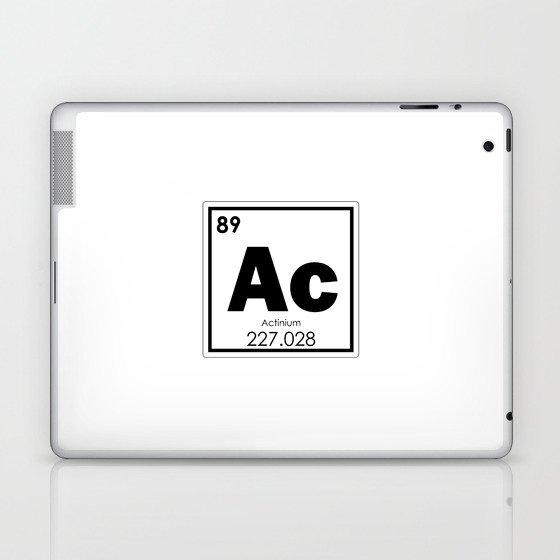 Actinium chemical element Laptop & iPad Skin by tony4urban