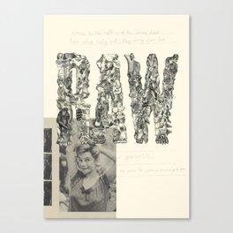 RAW Canvas Print