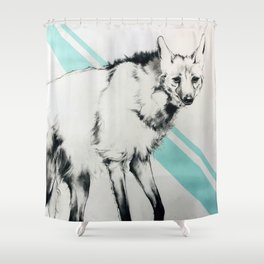 Maned Wolf Shower Curtain