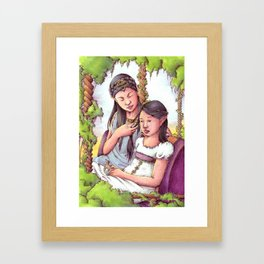 Aredhel and Anarie Framed Art Print