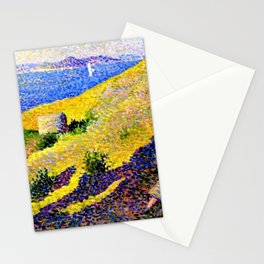 Côte de la citadelle, 1892 by Maximilien Luce Stationery Cards