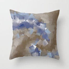 little sqares and rectangles pattern -6- Throw Pillow