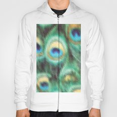 Peacock Feather Graphic Hoody