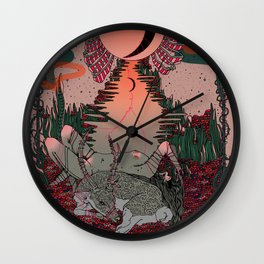 Outdoor Voices Wall Clock
