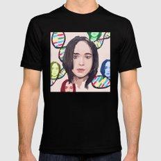 Ellen Page MEDIUM Mens Fitted Tee Black
