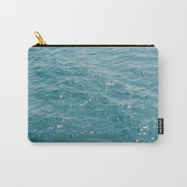Surface of sea on summer Carry-All Pouch