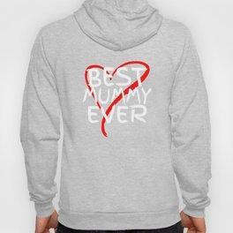 Best Mummy Ever Love Heart Mother's Day T-Shirt Hoody