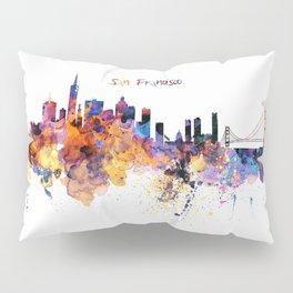 San Francisco Skyline Pillow Sham
