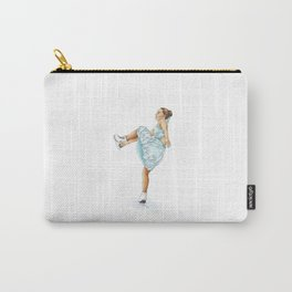 Figure Skating Heel Grab Carry-All Pouch