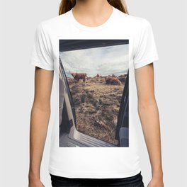 A Scottish view T-shirt