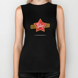 Holiday - 9 may. Victory day. Anniversary of Victory in Great Patriotic War. Biker Tank