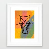 agnes Framed Art Prints featuring Little Agnes by Jeff Claassen