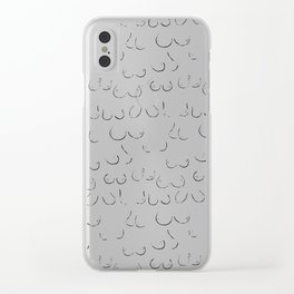 Size Inclusive Clear iPhone Case