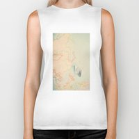 map Biker Tanks featuring map by Ingrid Beddoes