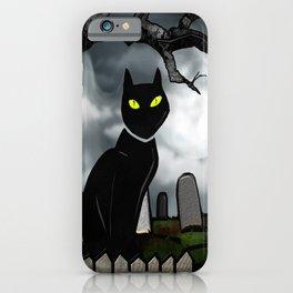 Hallows Halloween Horror Folk Art iPhone Case