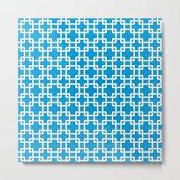 Plubber blue Metal Print