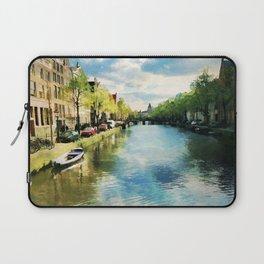 Amsterdam Waterways Laptop Sleeve