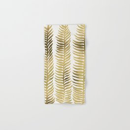 Golden Seaweed Hand & Bath Towel