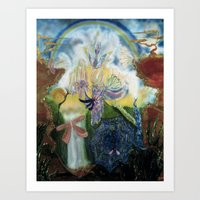 neverland Art Prints featuring Neverland    by ione citrin