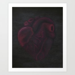 Beating Heart Art Print