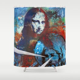Finding Mona Shower Curtain