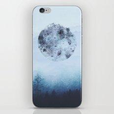 Watercolor Moon iPhone & iPod Skin